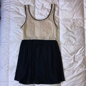 Forever 21 Cream Babydoll Dress